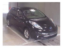 Электромобиль хэтчбек Nissan Leaf кузов ZE0 модификация G гв 2011