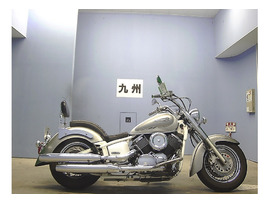 Мотоцикл круизер Yamaha Dragstar 1100 Classic рама VP13J боковые мотосумки гв 2008