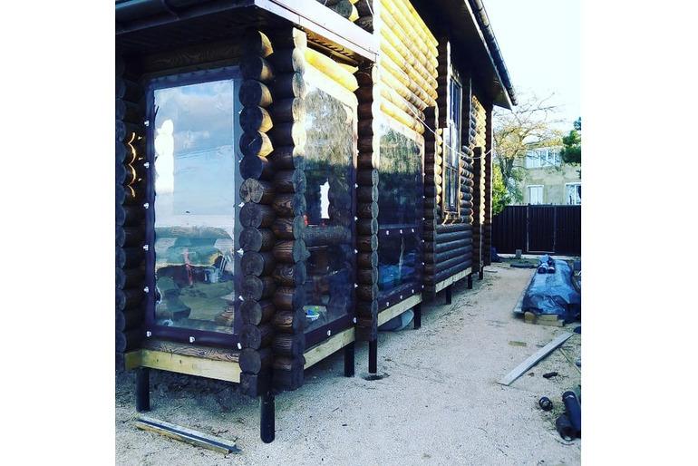 Мягкие окна ПВХ в Краснодаре