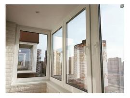 Остекление,утепление лоджий- окна пвх