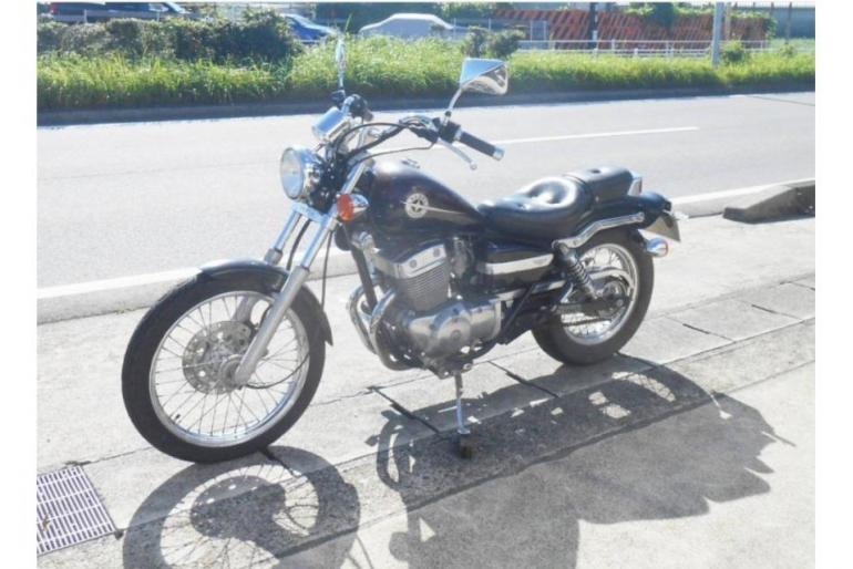 Мотоцикл круизер Honda Rebel 250 рама MC13 гв 1995 пробег 10 060 км пурпурный