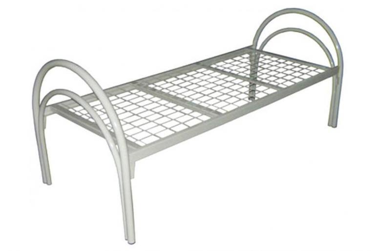 Для бытовок металлические кровати, одноярусные кровати